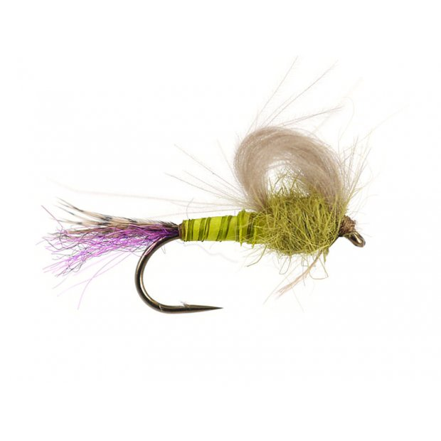 Olive Straight Loopwing Emerger - Pale Olive
