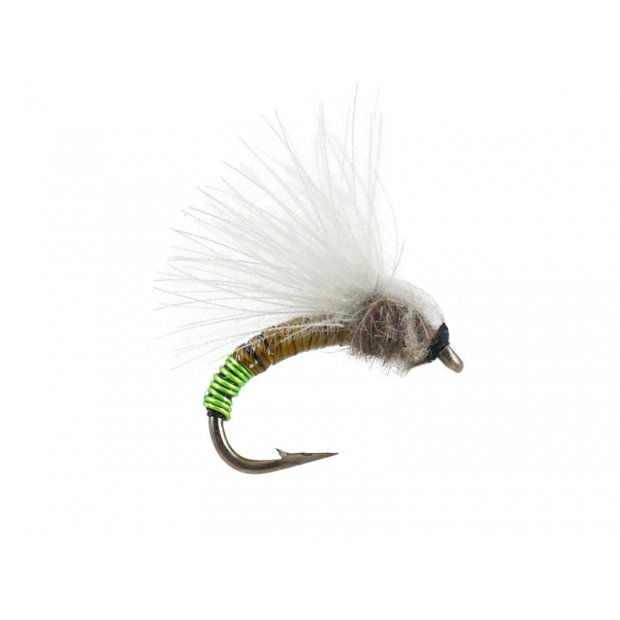 CDC Upset Hackle - Medium Olive