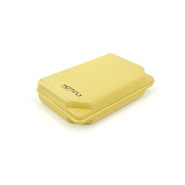 Fly Box FOAMBOX small - gold