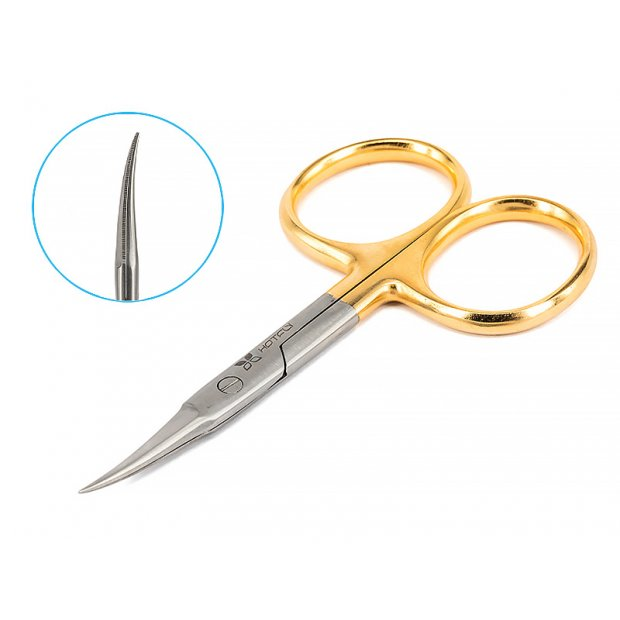 Scissors hotfly EAGLE PRO CURVED - small 4.00