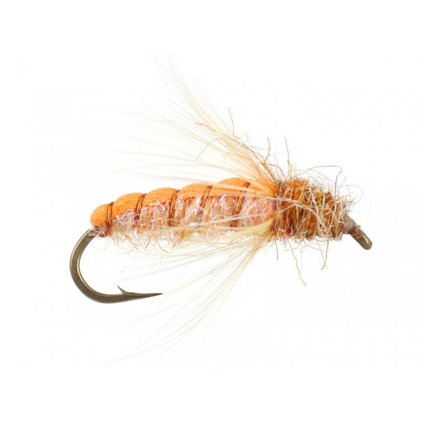 Emerger Sedge Pupa Orange