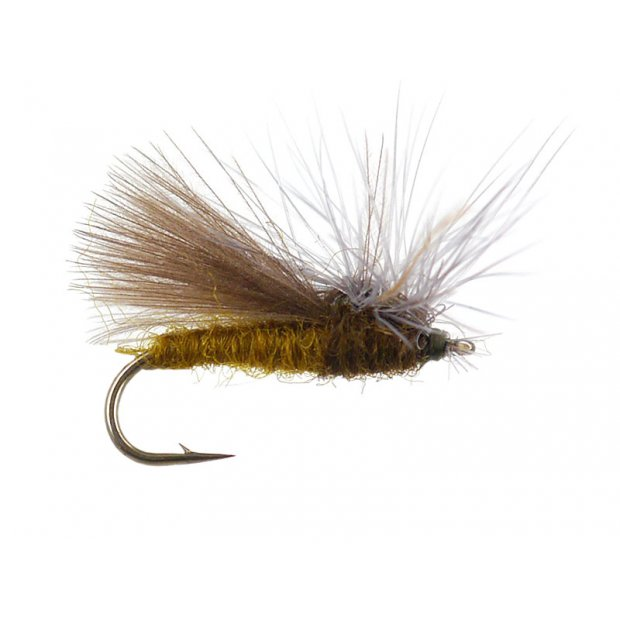 CDC Hackle Stacker Caddis- Olive