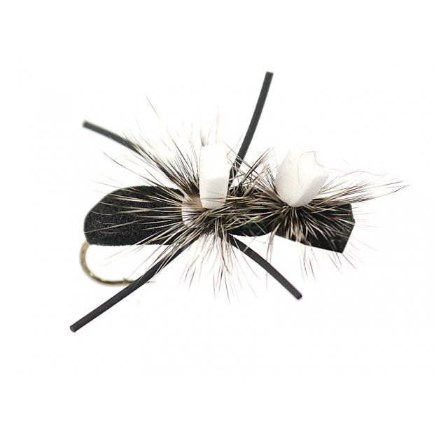 Double Hackle Chernobyl Ant