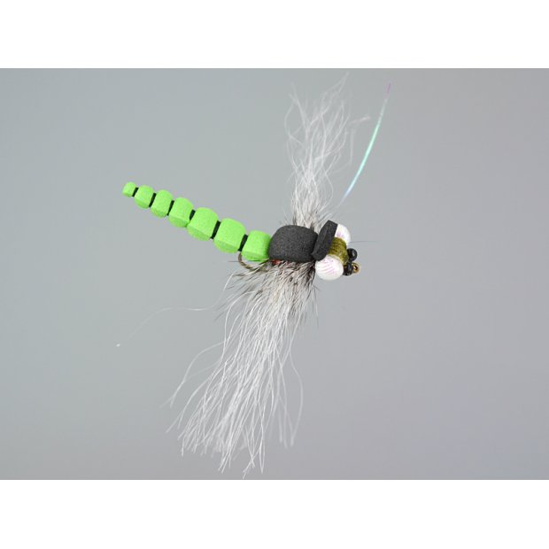 Realistic Foam Dragonfly Green