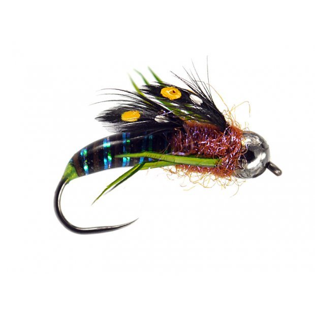 Dark Magic Glass Stonefly Nymph TG BL