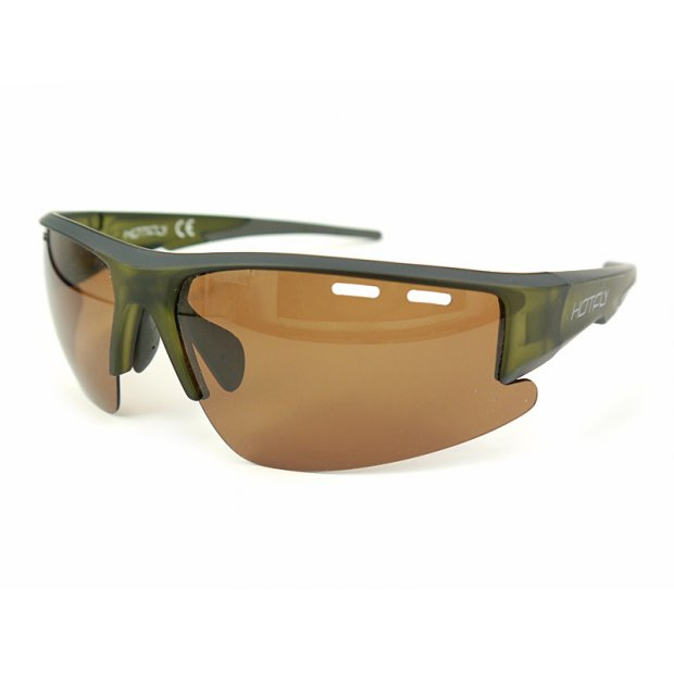 Polarized & photochromic sunglasses MASTER V2 - brown
