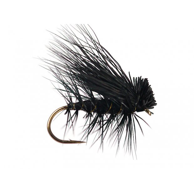 Black Superb Elk Hair Caddis