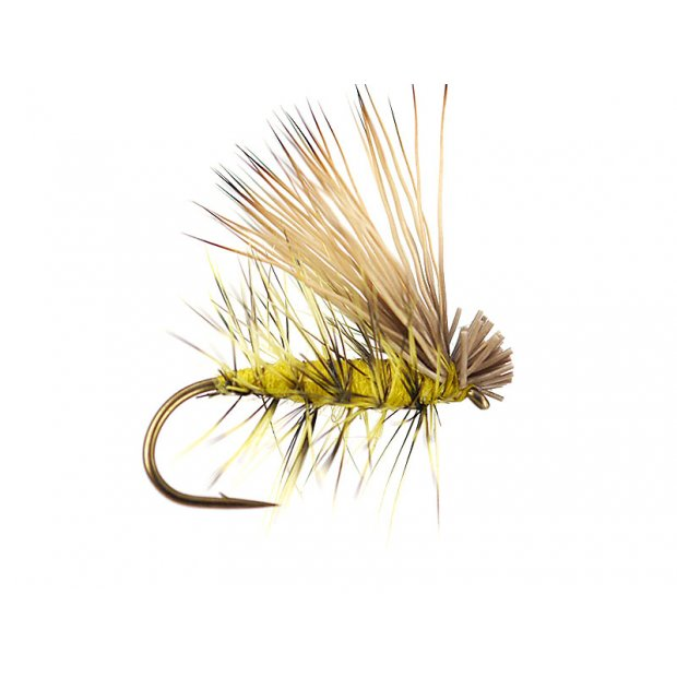 Yellow Superb Elk Hair Caddis